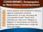 consumismo desapegados ao materialismo contempor neo32