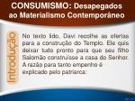 consumismo desapegados ao materialismo contempor neo6