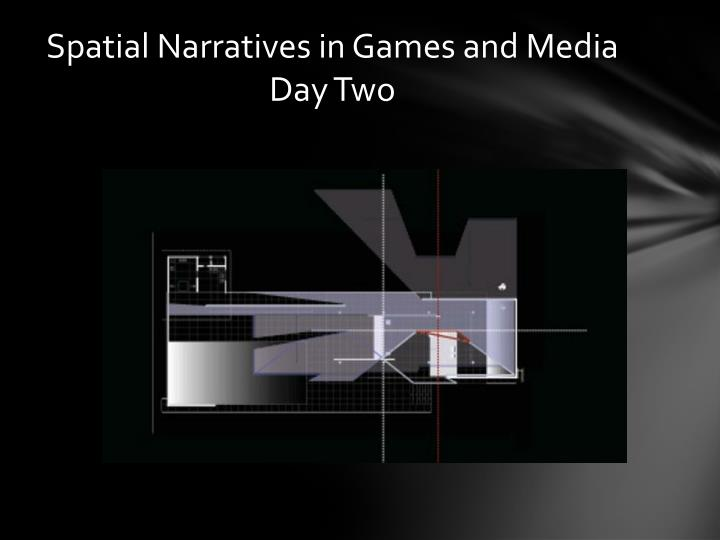 s patial n arratives in games and media day two n.