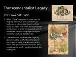 transcendentalist legacy