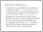 data flow testing cont7