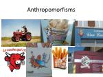 anthropomorfisms