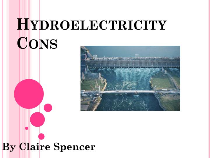 hydroelectricity cons n.