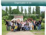 organisation et vie2