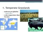 1 temperate grasslands