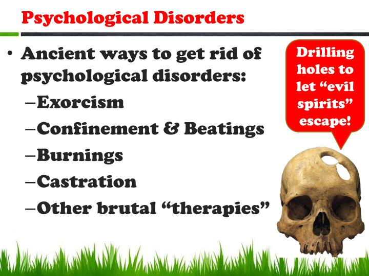 Psychological disorders1