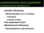 understanding mood disorders the biological perspective