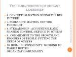 ten characteristics of servant leadership1