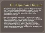 iii napoleon s empire1