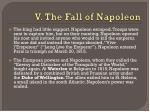 v the fall of napoleon1