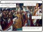 the coronation of the emperor napoleon i by jacques louis david