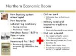 northern economic boom