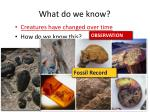 what do we know2
