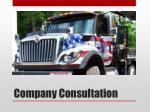 company consultation