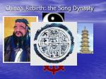 china s rebirth the song dynasty