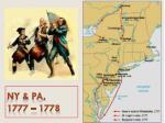 ny pa 1777 1778