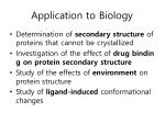 application to biology5