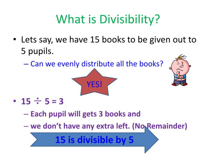 what is divisibility n.