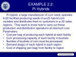 example 2 2 pi hybrids