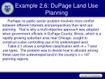 example 2 6 dupage land use planning
