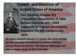 growth and disunion of the united states of america4