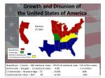 growth and disunion of the united states of america8
