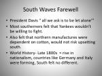 south waves farewell