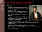 the dred scott case 1857