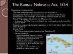 the kansas nebraska act 18542