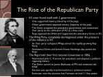 the rise of the republican party1
