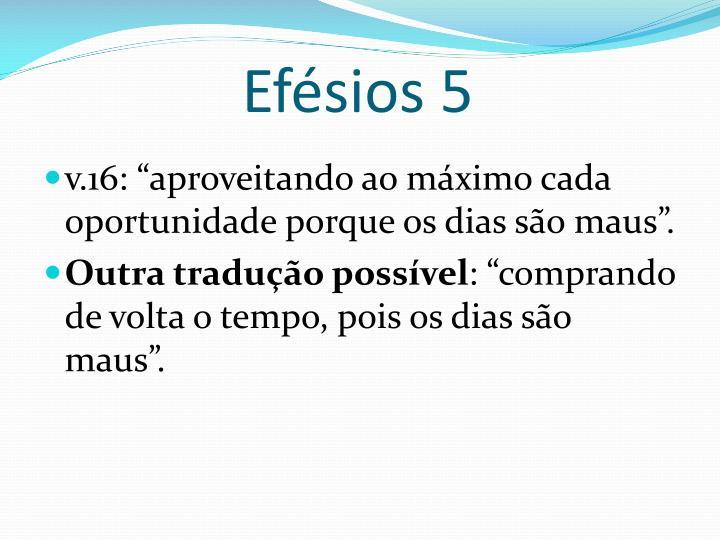 Efésios 5