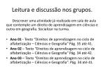 leitura e discuss o nos grupos