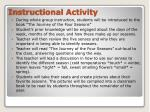 instructional activity