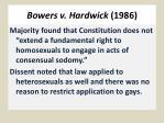 bowers v hardwick 1986
