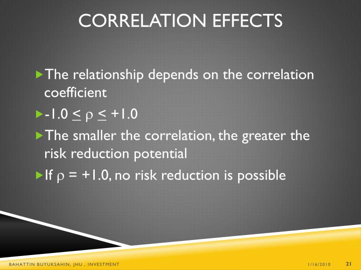 The relationship depends on the correlation coefficient