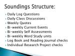 soundings structure