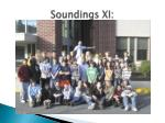 soundings xi