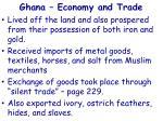 ghana economy and trade