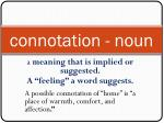 connotation noun