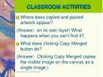 classroom activities2