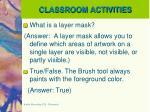 classroom activities7