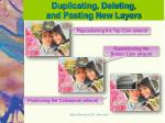 duplicating deleting and pasting new layers1