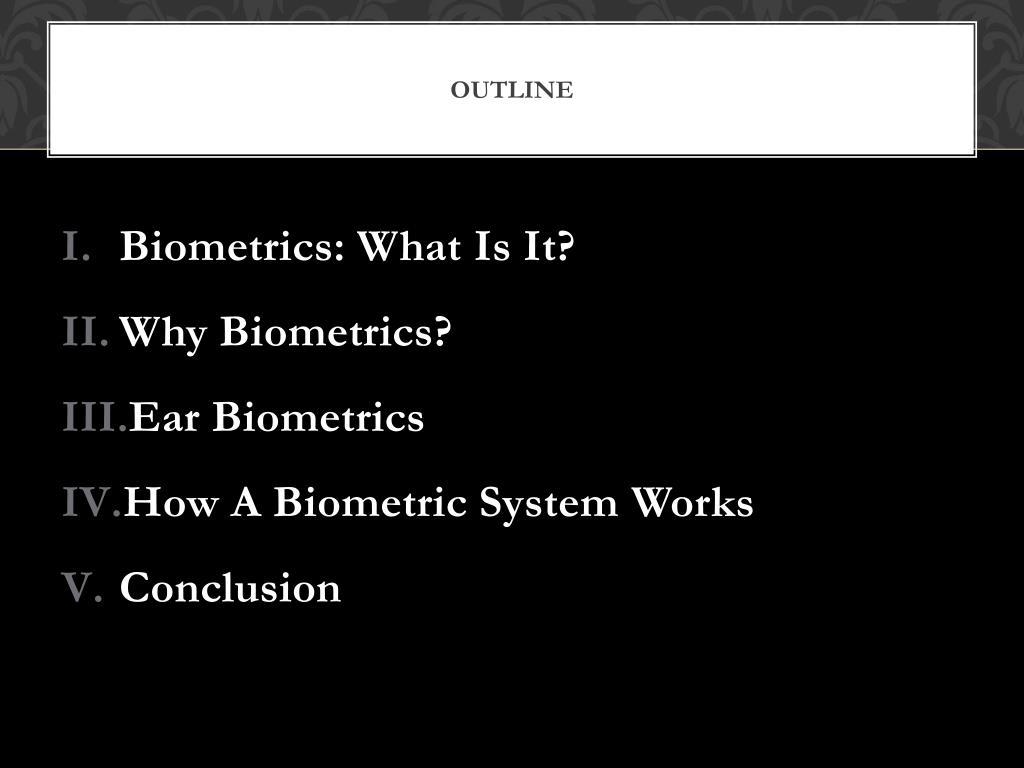 PPT - Biometrics: Ear Recognition PowerPoint Presentation - ID:2220101