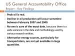 us general accountability office report key findings