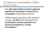 us general accountability office selected findings