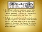 father john brady