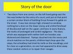 story of the door