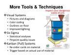 more tools techniques