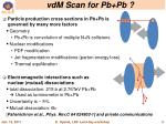 vdm scan for pb pb