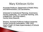 mary kittleson kirlin